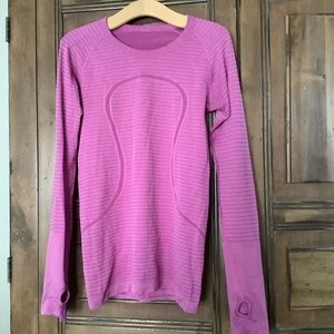 Lululemon long sleeve swiftly 6